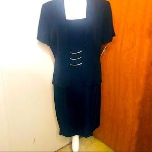 Scarlett Navy Blue Dress